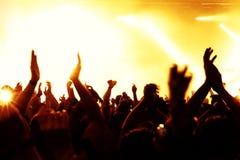 Konzert-Masse Stockbild