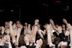 Konzert-Masse Stockfotos