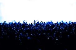 Konzert-Masse lizenzfreie abbildung