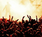 Konzert-Masse Lizenzfreie Stockfotos