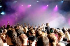 Konzert-Masse Stockfoto