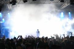 Konzert-Masse Lizenzfreie Stockfotografie