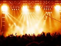 Konzert-Masse Lizenzfreie Stockbilder