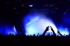 Konzert-Masse Lizenzfreies Stockfoto