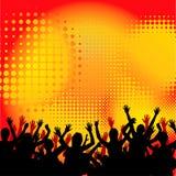 Konzert-Masse-Hintergrund stock abbildung