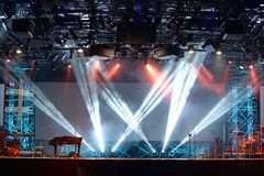 Konzert-Stadiums-Lichter Stockbild