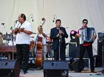 Konzert Tarafde Haidouks In stockfotografie