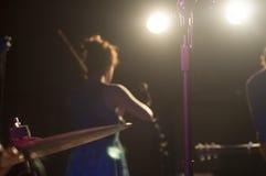 Konzert- und Öffentlichkeitshintergrund stockbilder