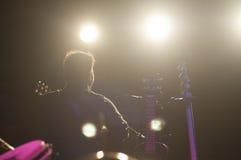 Konzert- und Öffentlichkeitshintergrund lizenzfreie stockfotos
