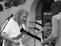 Konzert von Fekete Jeno auf Keszthely-Straßenfest Lizenzfreies Stockbild