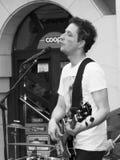 Konzert von Fekete Jeno auf Keszthely-Straßenfest Lizenzfreie Stockfotografie