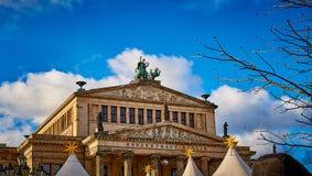 Konzerthaus in Berlijn, Duitsland stock foto's