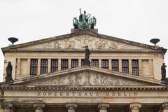 Konzerthaus Berlin at famous touristic square Gendarmenmarkt in Berlin Stock Images