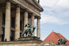 Konzerthaus Berlin at famous touristic square Gendarmenmarkt in Berlin Royalty Free Stock Images