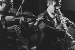Konzertleistung der klassischen Musik lizenzfreie stockbilder