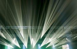 Konzertlicht Lizenzfreie Stockfotos