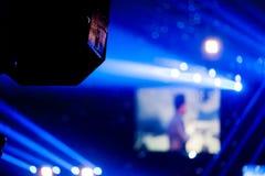 Konzertlicht Lizenzfreie Stockfotografie