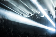 Konzertlichter Stockbilder