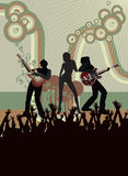 Konzertplakat Lizenzfreie Stockbilder