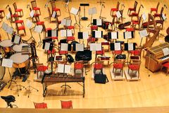 Konzertsaal des Mariinsky Theaters Lizenzfreies Stockbild