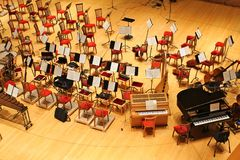 Konzertsaal des Mariinsky Theaters lizenzfreie stockfotos
