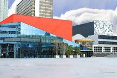 Konzertsaal und Theater in Den Haag. Lizenzfreie Stockfotos