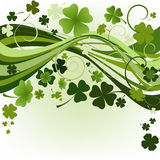 Konzipieren Sie für Tag Str.-Patricks stock abbildung