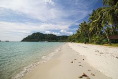 Kood island, Koh Kood, Trat, Thailand. Beautiful tropical island at Trat, Thailand Stock Images