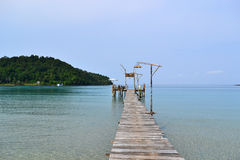 Kood island in thailand Royalty Free Stock Images