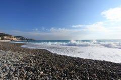 Kooi D ?Azur la Baie des Anges stock foto's