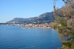 Kooi d'Azur-Menton-Frankrijk Stock Afbeeldingen