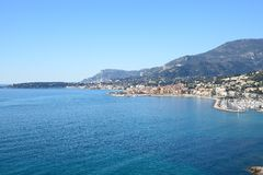 Kooi d'Azur-Menton-Frankrijk Royalty-vrije Stock Fotografie
