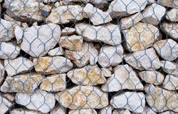 Kooi van stenen Stock Foto's