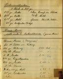 Kookboek Royalty-vrije Stock Afbeeldingen
