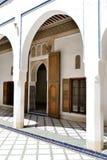 Kooktoestel hoodEl Bahia Palace stock fotografie