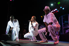 Kool and the Gang. CITRUS HEIGHTS, CA – September 8: Kool and the Gang performs at Sunrise Marketplace in Citrus Heights, California on September 8th, 2012 Royalty Free Stock Image