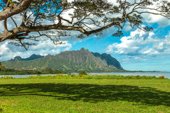 Koolau Mountains Royalty Free Stock Photos