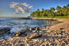 KoOlina nimmt Oahu Hawaii Zuflucht Lizenzfreies Stockfoto