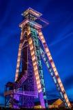 Koolmijn Winterslag in Genk, België Royalty-vrije Stock Fotografie