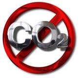 Koolstof neutraal concept stock illustratie