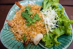 KOONG PAD KRA TEAM PRIK THAI Stock Photography
