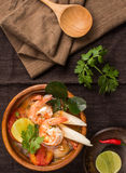 koong Tom yum Obraz Stock