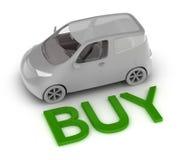 Koop een auto royalty-vrije illustratie