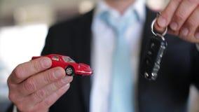 Koop een auto - verkopend een auto stock videobeelden