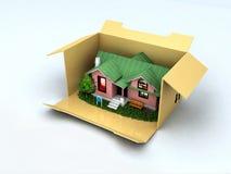 Koop een huis Stock Afbeeldingen