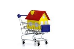 Koop een huis Stock Afbeelding
