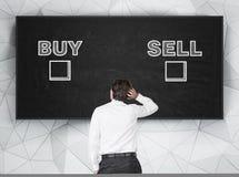 Koop en verkoop Royalty-vrije Stock Fotografie
