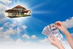 Koop het nieuwe huis Stock Afbeelding