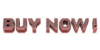 Koop nu! vector illustratie