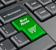 Koop nu toetsenbordknoop Stock Foto's